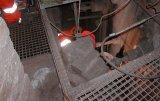 strain gauge measurement at blast furnace shell