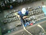 application of strain gauges to crane runway
