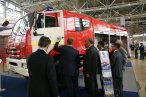 Fire truck prototype at Kamaz chassis