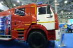 fire truck at exhibition Comtrans 2013