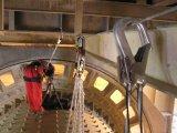 Horizontal rope belaying system