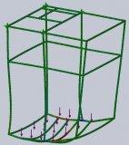 crane cabin structure