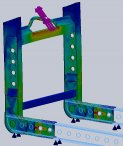 changeable transport frame